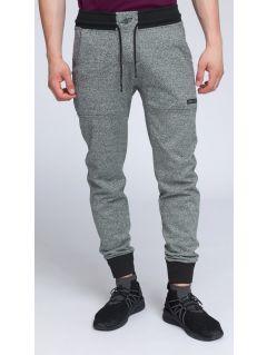 Spodnie dresowe męskie SPMD004 - czarny