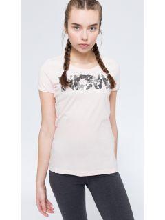T-shirt damski TSD008 - jasny róż