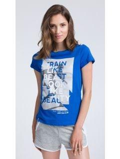 T-shirt damski TSD015 - granatowy