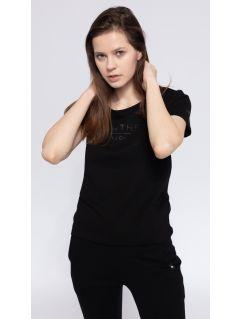 T-shirt damski TSD236 - czarny