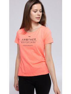 T-shirt damski TSD236 - łososiowy