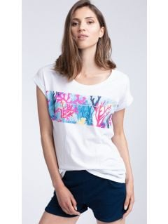 T-shirt damski TSD451 - biały