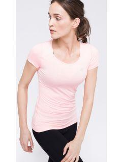 Koszulka treningowa damska TSDF113 - różowy
