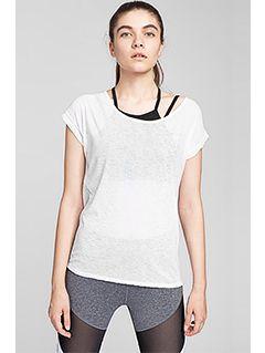 Koszulka treningowa damska TSDF254 - biały