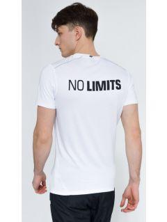 Koszulka treningowa męska TSMF008 - biały