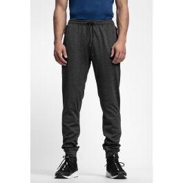 91dacabad679 Spodnie dresowe męskie SPMD303 - głęboka czerń melanż