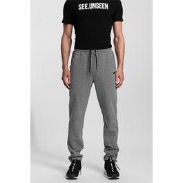 8bc7fa30ba93 Spodnie dresowe męskie SPMD302 - średni szary melanż
