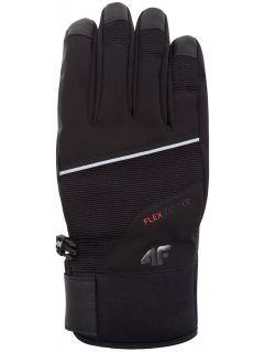 Rękawice narciarskie męskie REM254Z - czarny