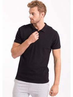 Koszulka polo męska TSM051Z - czarny