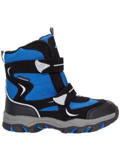 Buty zimowe dla małych chłopców JOBMW302Z - niebieski