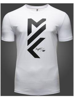 T-shirt męski Maciek Kot Collection TSM502 - biały