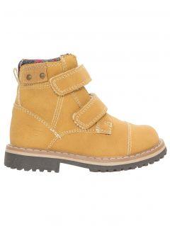 Buty jesienne dla małych chłopców JOBMW103Z - beż miodowy