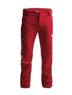 Spodnie funkcyjne męskie Polska Pyeongchang 2018 SPMT900R - czerwony wiśniowy