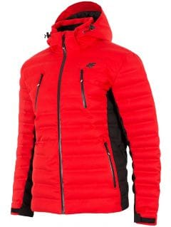 Kurtka narciarska męska KUMN155Z - czerwony