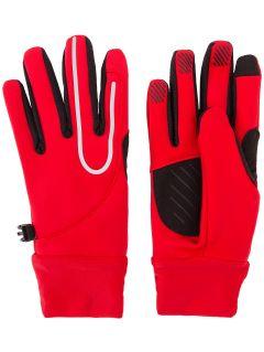 Rękawiczki ogólnosportowe uniseks Serbia Pyeongchang 2018 REU701 - czerwony wiśniowy