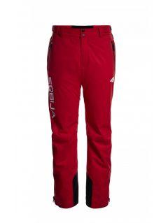 Spodnie narciarskie męskie Serbia Pyeongchang 2018 SPMN700 - czerwony wiśniowy