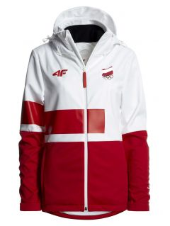 Softshell damski Polska Pyeongchang 2018 SFD900R - biały