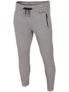 Spodnie dresowe męskie SPMD002 - chłodny jasny szary