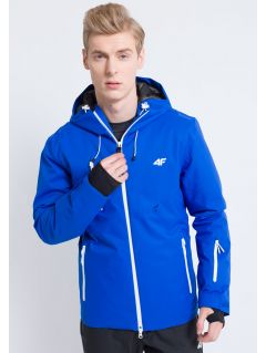 Kurtka narciarska męska KUMN163 - niebieski ciemny