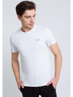 T-shirt męski TSM300 - biały