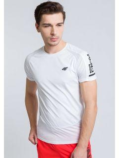 Koszulka treningowa męska TSMF215 - biały