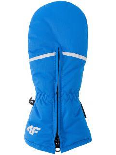 Rękawice narciarskie dla małych chłopców JREM101Z - niebieski