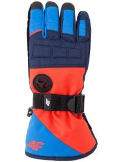 Rękawice narciarskie dla dużych chłopców jrem402z - czerwony