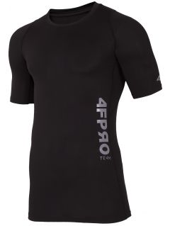 Koszulka baselayer 4FPro TSMF401 - głęboka czerń  allov