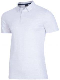 Koszulka polo męska TSM015 - chłodny jasny szar