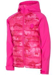 Softshell dla małych dziewczynek JSFD301 - różowy