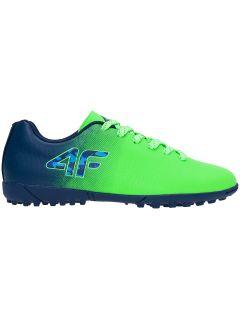 Buty piłkarskie (turfy) dla dużych chłopców JOBMP400L - multikolor