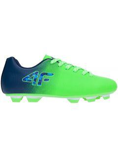 Buty piłkarskie (lanki) dla dużych chłopców JOBMP400T - multikolor