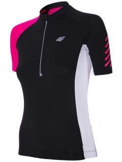 Koszulka rowerowa damska RKD152 - głęboka czerń