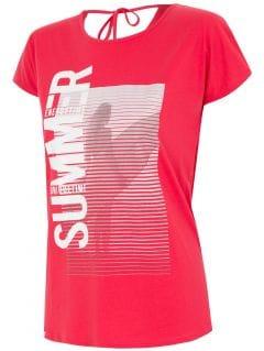 T-shirt damski TSD016 - czerwony