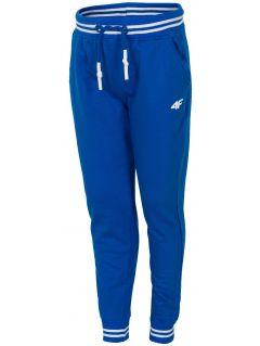 Spodnie dresowe dla małych chłopców JSPMD113 - niebieski