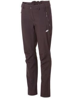 Spodnie trekkingowe damskie  SPDT001 - czarny