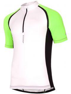 Koszulka rowerowa męska RKM002 - biały