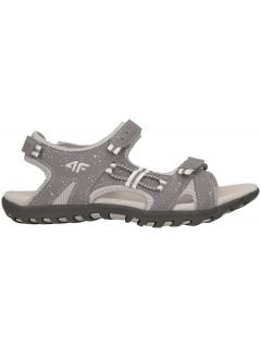 Sandały dla małych dziewczynek JSAD100 - średni szary