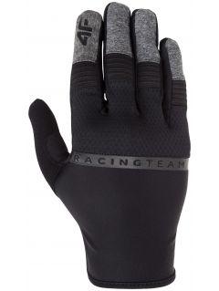 Rękawiczki rowerowe RRU008 - głęboka czerń