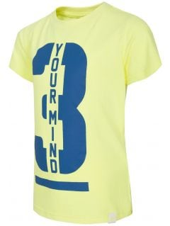T-shirt dla małych chłopców JTSM130A - LIMONKA