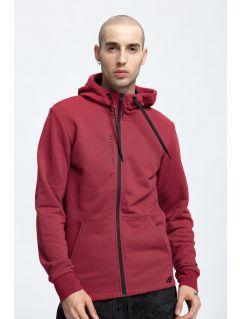 Bluza męska BLM256 - ciemna czerwień