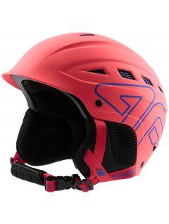 Kask narciarski damski KSD250 - koral neon