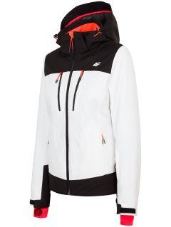 Kurtka narciarska damska KUDN251 - biały