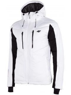 Kurtka narciarska męska KUMN256 - biały