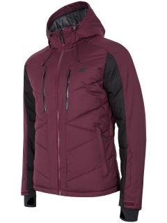 Kurtka narciarska męska KUMN256 - burgund