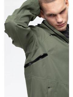 Kurtka trekkingowa męska KUMT250 - khaki