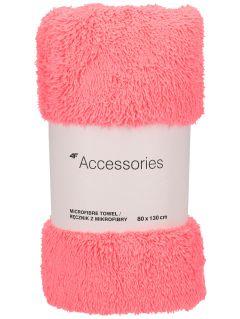 Ręcznik sportowy  RECU201B - różowy neon