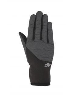 Rękwiczki sportowe uniseks REU201 - średni szary
