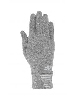 Rękawiczki sportowe uniseks REU303 - średni szary melanż