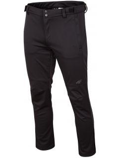 Spodnie trekkingowe męskie SPMT202R - głęboka czerń